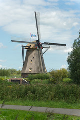 Windmill near Kinderdijk in NL (UN world heritage)