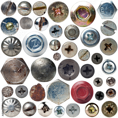 Screws collection