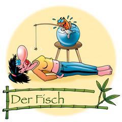 Hatha Yoga Asanas: Der Fisch
