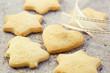 Christmas cookies with brown sugar