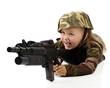 Fun Playing Soldier