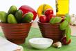 Snack Gurken und Cherrytomaten