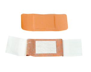 waterproof bandage with inside view