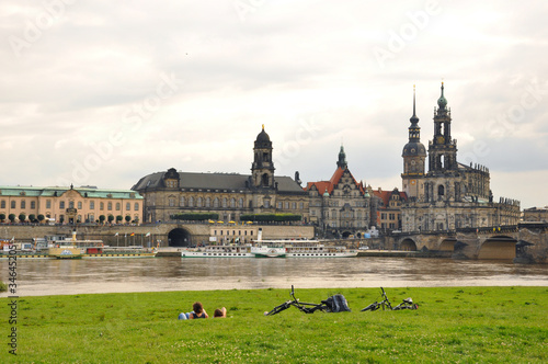 Residenz and Kathorische.Dresden(Germany)