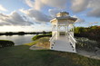 Pavillon am Meer