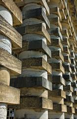 Saline royale d'Arc et Senans - colonnato
