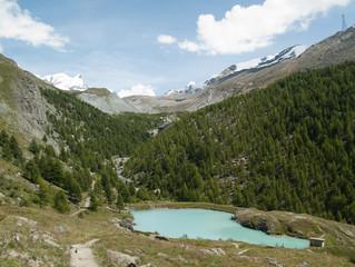 Lac du Moosjisee, alpes suisses