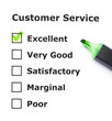 Customer service evaluation