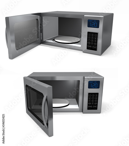 Pair of microwaves