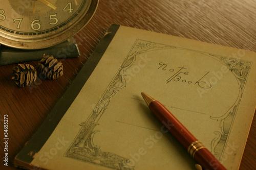 古いノート