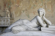 Sculpture of a beautiful woman in Pisa - 34658089