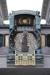 Vienna - tower clock