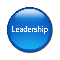 Boton brillante texto Leadership