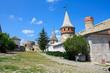The medieval fortress in Kamenets Podolskiy, Carpathians
