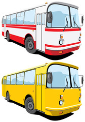 Vector isolated bus without gradients