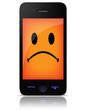 Unhappy Cellular Phone - 34668434