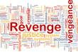 Revenge background concept