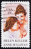 Postage stamp USA 1980 Helen Keller and Anne Sullivan