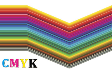 CMYK color spectrum