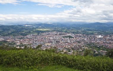 Oviedo desde el Naranco