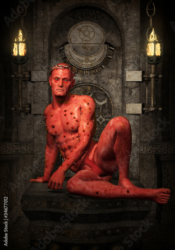 demon red demigod