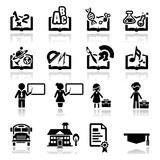 Fototapety Icons set education