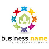 logo business maison