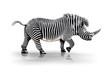 Fototapeten,zebra,nashörner,gemischt,montage