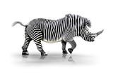 Fototapety Zebra-Horn