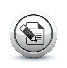 icône fichier document écriture