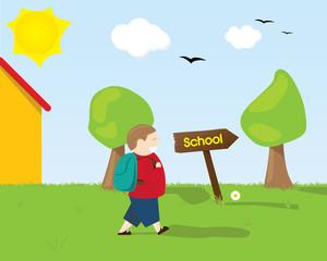 Andare a scuola