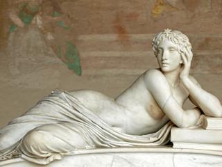 Pisa Campo Santo: Detail from Tomb of Ottaviano Fabrizio