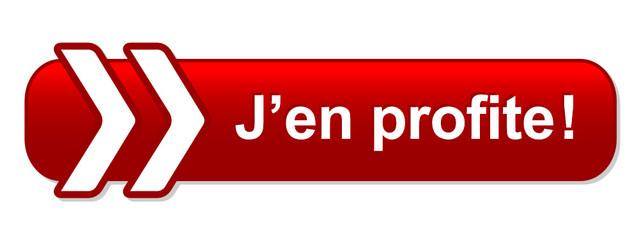 Bouton Web J'EN PROFITE! (bons plans offre spéciale vente flash)