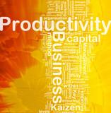 Business productivity background concept
