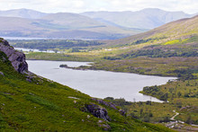 Gleninchaquin lac, Ring of Kerry Irlande