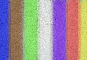 multi-color streaks