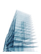 Blue office building
