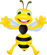 happy bee