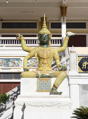 giant statue in Thai literature , Thai temple