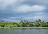 Fototapeta sceniczny - tajlandia - Rzeka