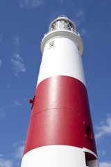 the famous portland bill lighthouse