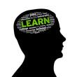 Silhouette head - Learn