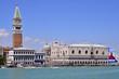Markusplatz mit Dogenpalast Venedig, Italien