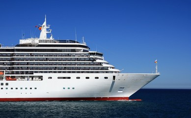 Depart of a cruise