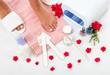 Trattamento alle unghie dei piedi