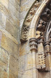 Details on archway of rosslyn chapel
