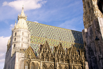 St. Stephan's cathedral in Vienna
