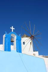 Santorin - Moulin à Oia