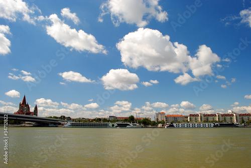 Blick auf Wiener Altstadt