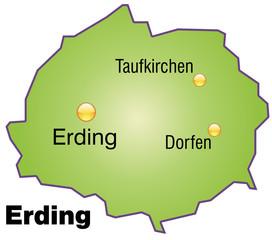 Landkreis Erding Variante 4